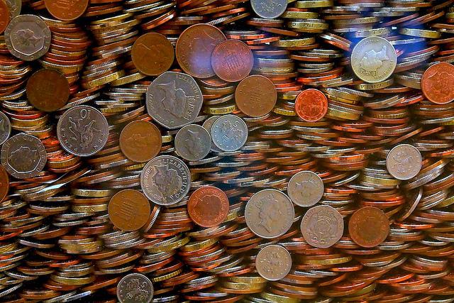 Money cash money change coins money