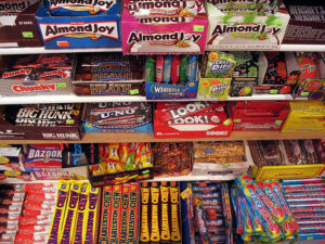 A wide array of candies to choose from