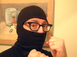 A picture of a ninja dude