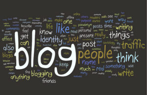A nice picture of blog words