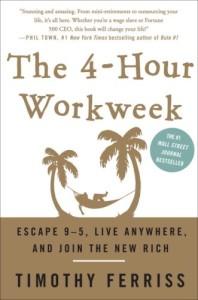 4 hour work week book cover