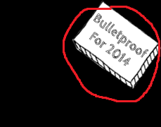 screenshot of bulletproof for 2014