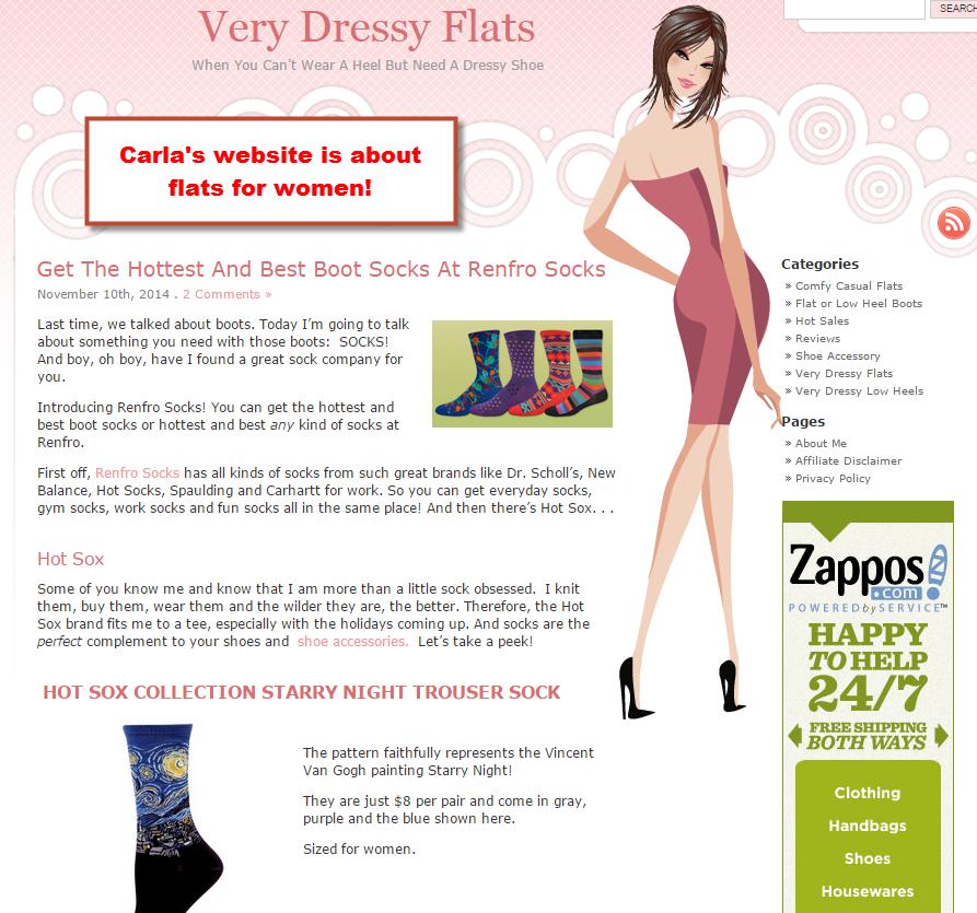 Carla's website