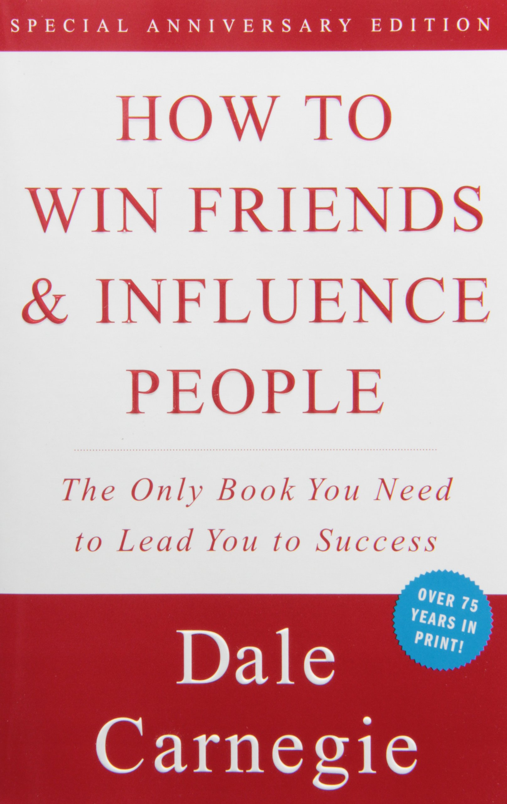 Book cover about how to win influential people