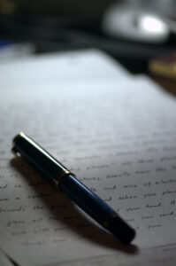 Writing a summary on an article