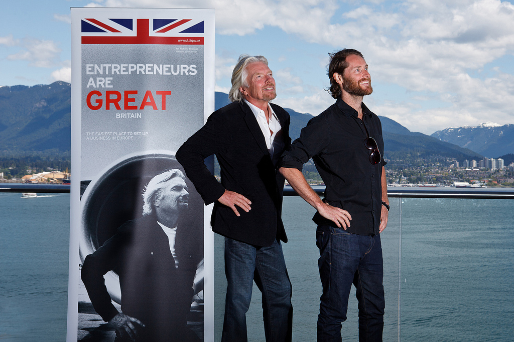 Richard Branson British
