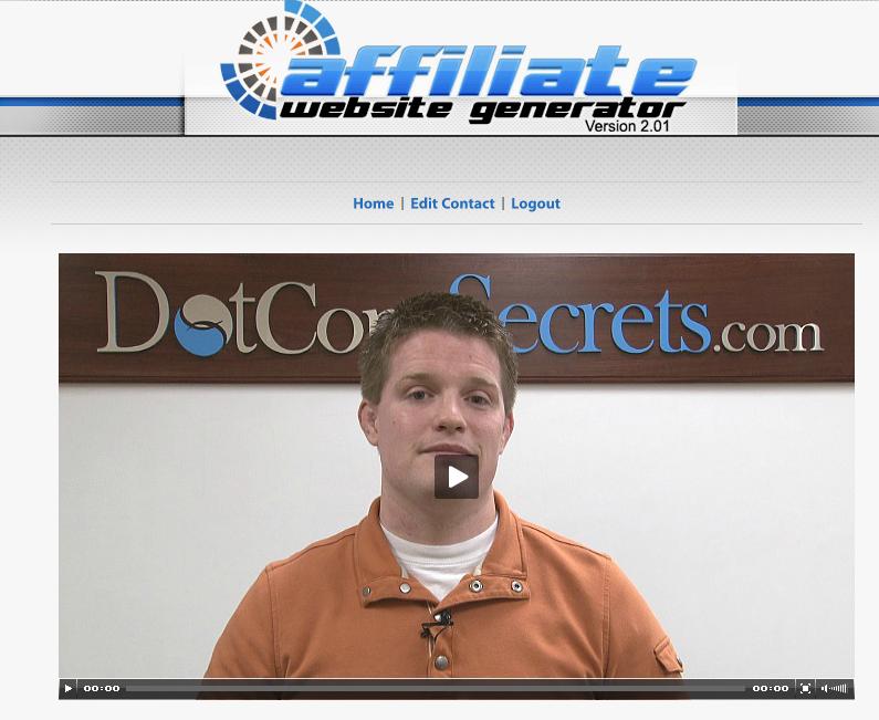 Russel With Affiliate Website Generator