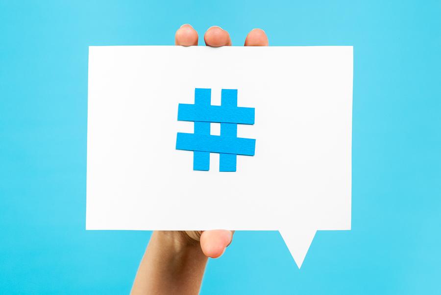 cute hashtag symbol