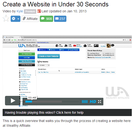 How to build a website under 30 seconds