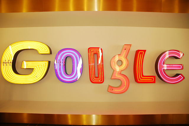google logo at base