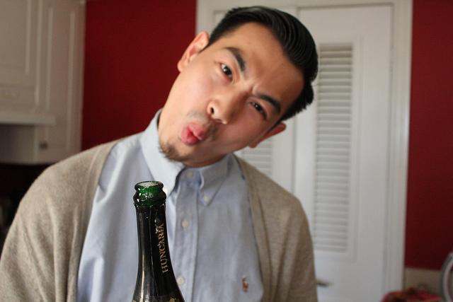 surprised Asian dude