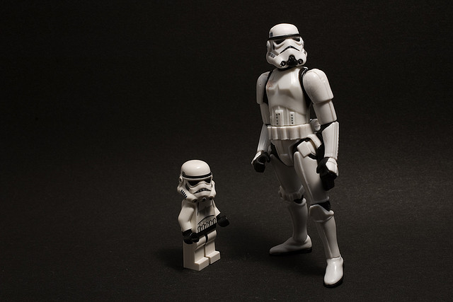 scared stormtrooper worrying about Facebook