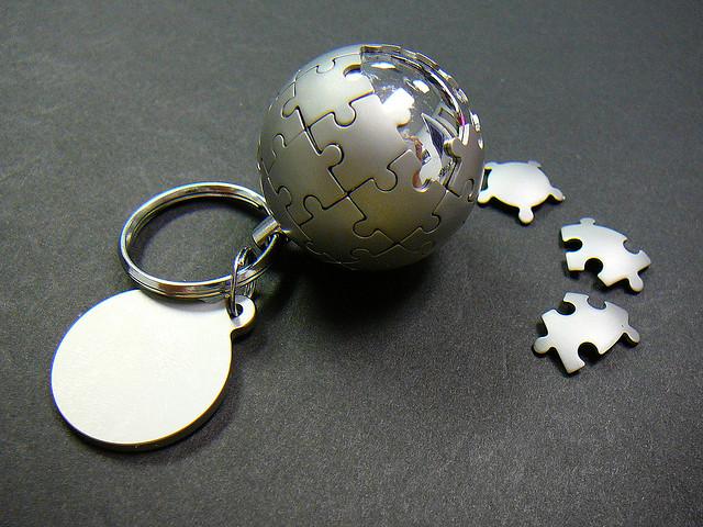 Wikipedia keychain