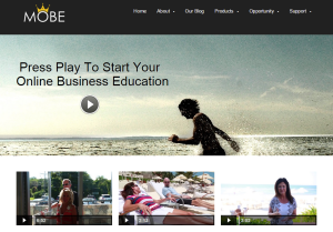 My Online Business Empire welcome page