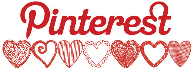 Pinterest logo drawing