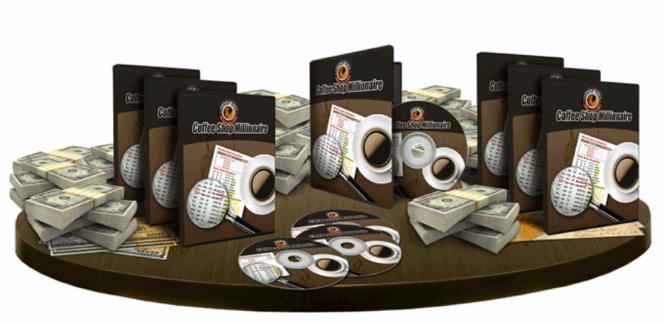 Coffee Shop Millionaire product set