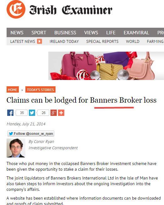 Irish Examiner Banners Broker
