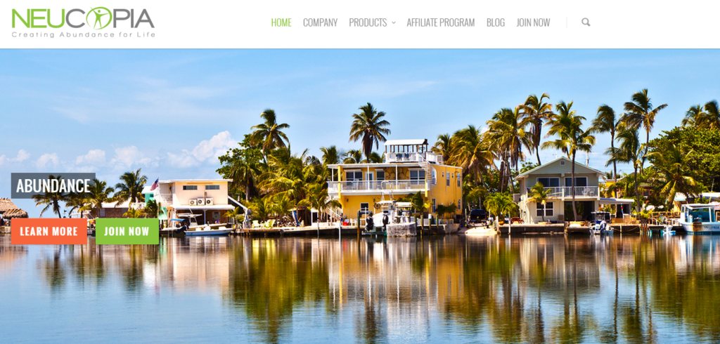 Neucopia home page