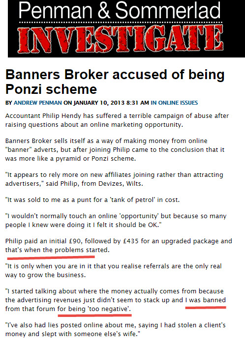 Penman and sommerlad investigate on Banners Broker