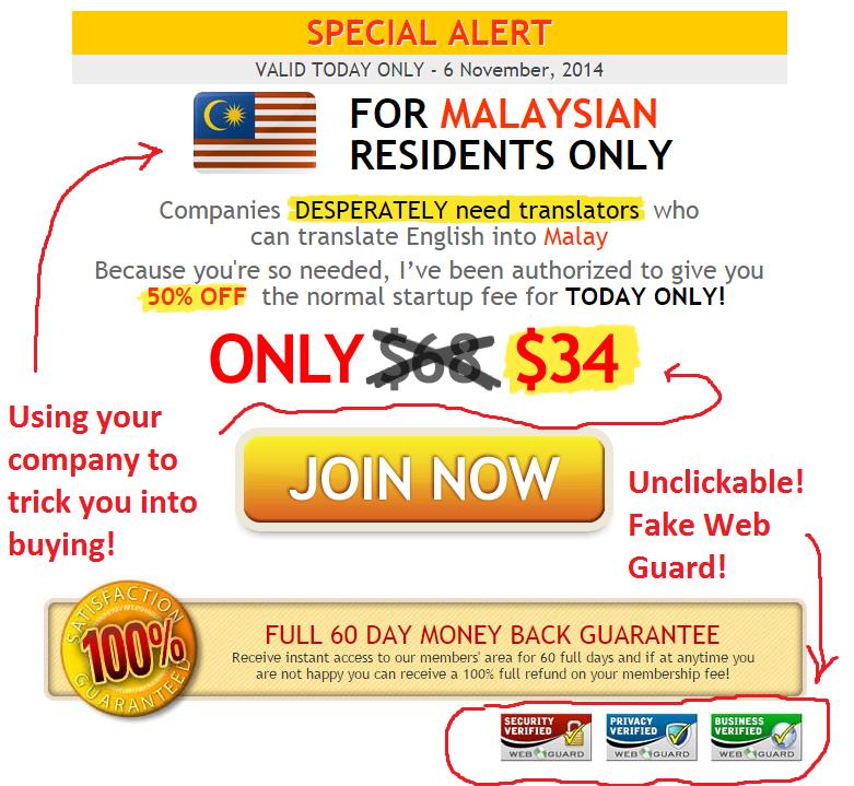 Real Translator Jobs Pricing Tactic