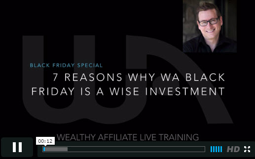Reasons to join Wealthy Affiliate Black Friday