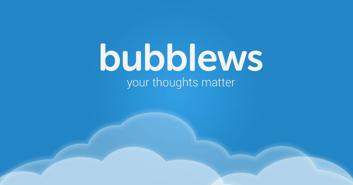 bubblews background