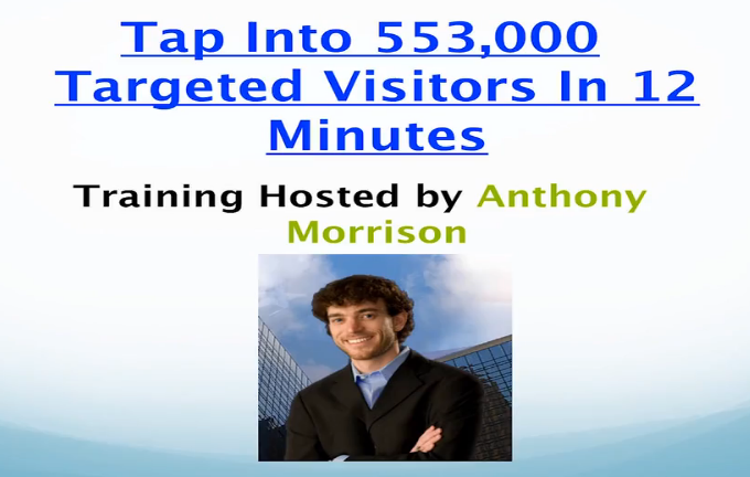 success with anthony home page