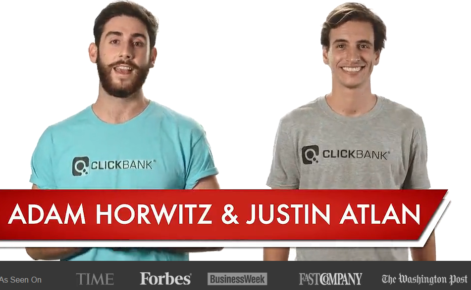 Adam and Justin from Clickbank University