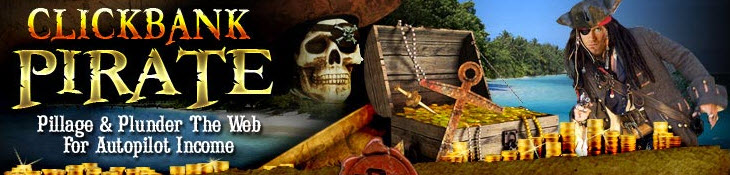 Clickbank Pirate Home page