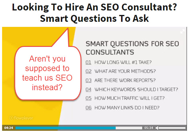 How to hire and SEO consultant