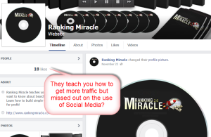 Ranking Miracle FB page