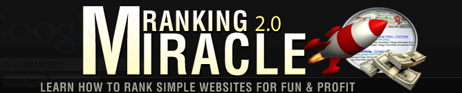 Ranking Miracle home page