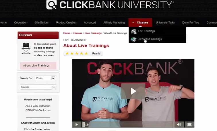 clickbank members area