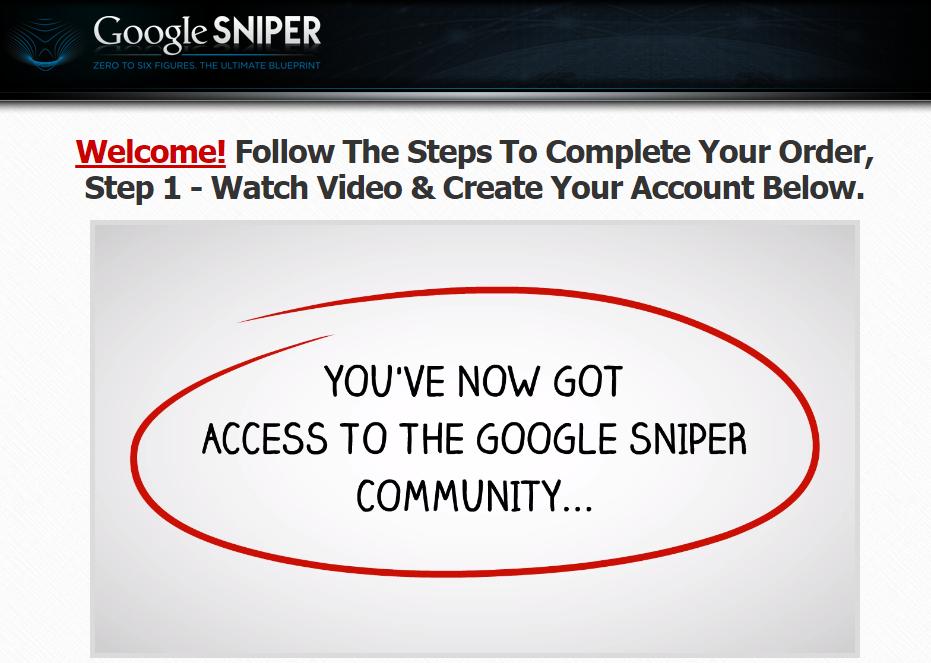 google sniper community
