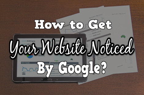howt to get your website noticed by google cover