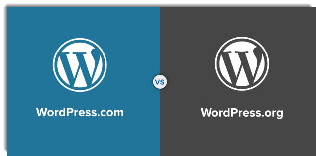 wordpress difference between dot org and dot com