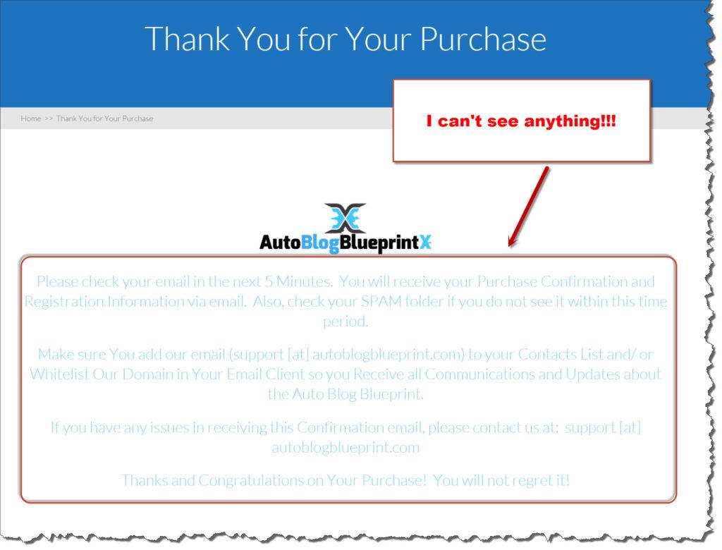 Blogging on autopilot x unclear