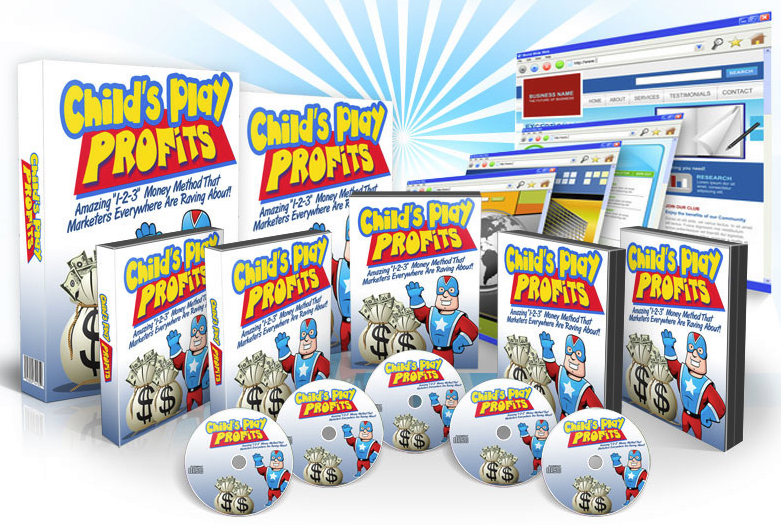 Child's play profits product cover