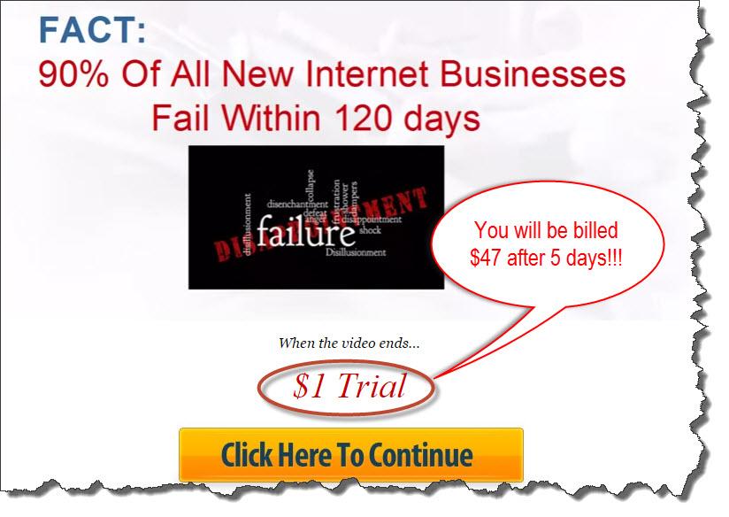 deceptive $1 trial