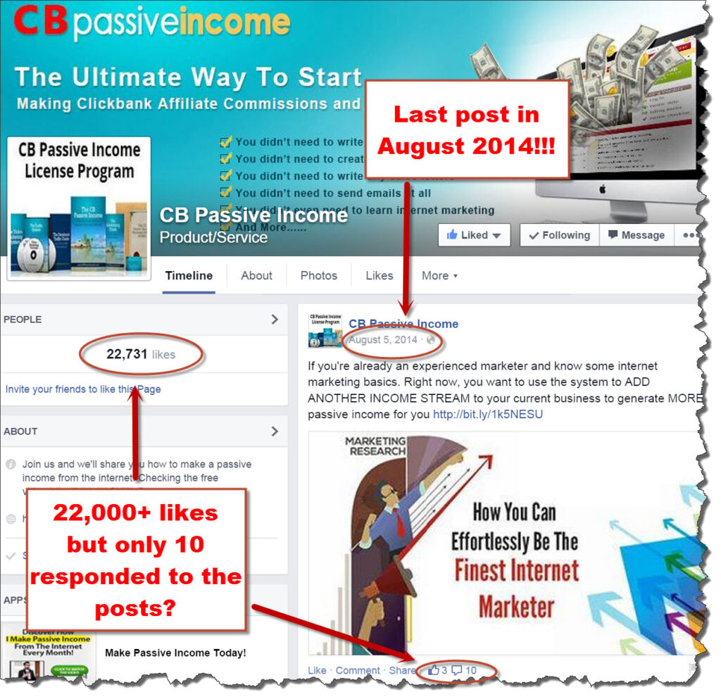 CB PAssive income community