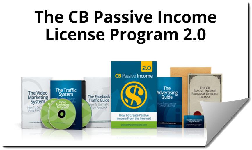 CB PAssive income product cover