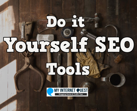 Do it yourself SEO tools