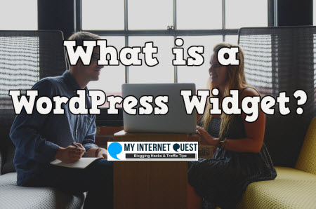 what is a WordPress widget