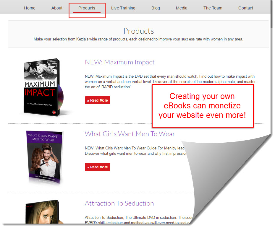 Create eBooks