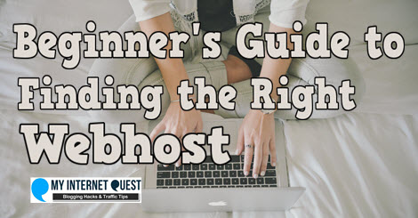 beginners guide to finding the right webhost