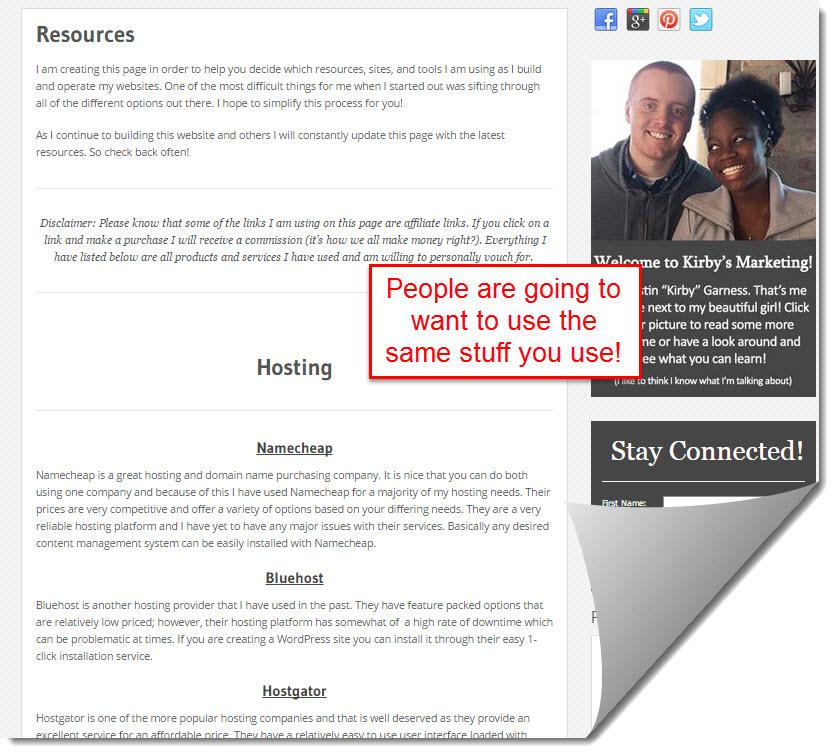 kirby marketing resource page