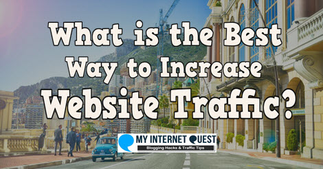 what is the best way to increase website traffic