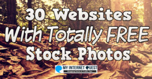 30 websites with totally free stock photos