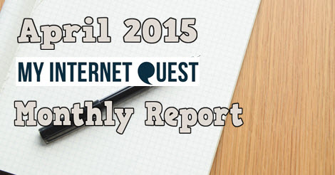 april 2015 monthly report