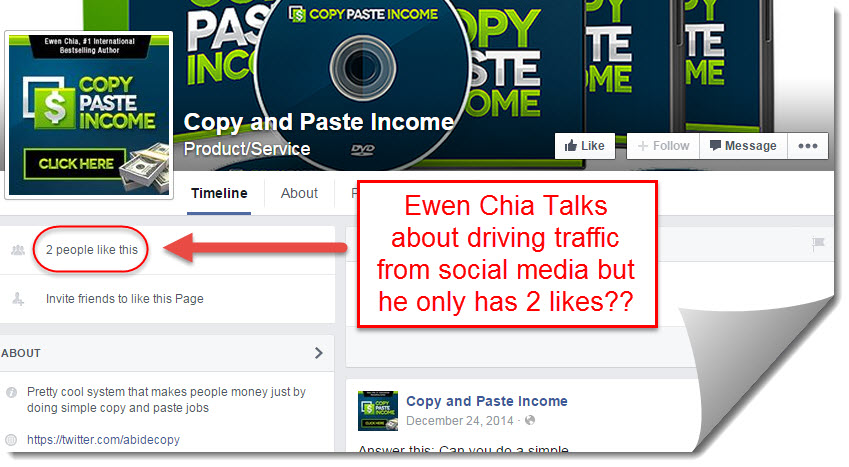 copy paste income community